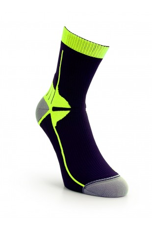 Sport Compression Sock Yellow