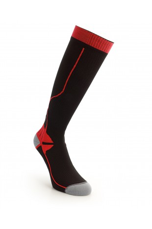 Compression Long Sock Red
