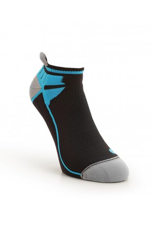 Compression Ankle Sock Blue
