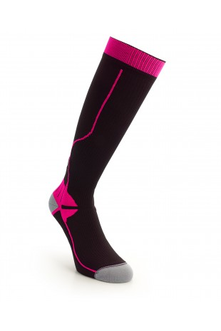 Compression Long Sock Pink