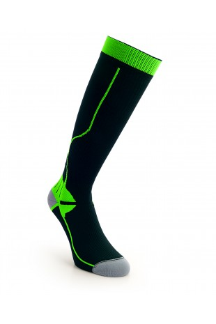 Compression Long Sock Green