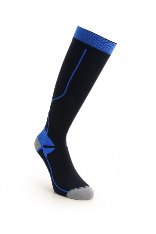 Compression Long Sock Blue...