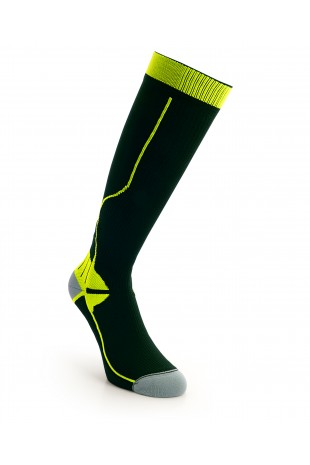 Compression Long Sock Yellow