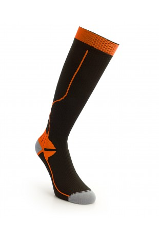 Compression Long Sock Orange