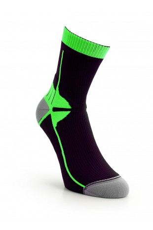 Sport Compression Sock Green