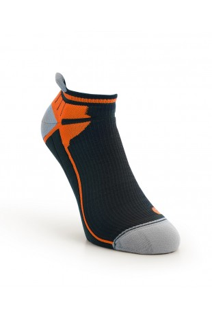 Compression Ankle Sock Orange