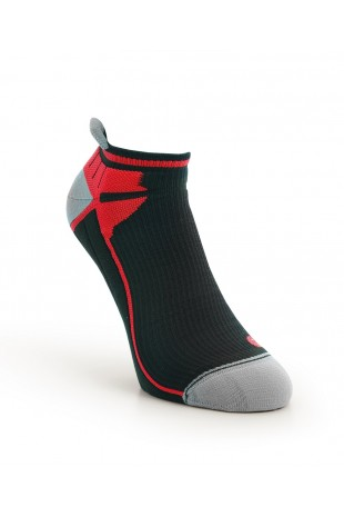 Compression Ankle Sock Red