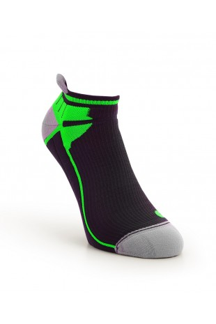 Compression Ankle Sock Green