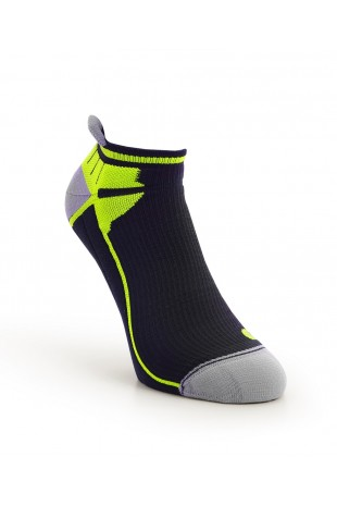 Compression Ankle Sock Yellow